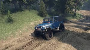 modified jeep wrangler yj mods spintires sid 1987 jeep yj v1 0 youtube