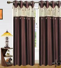 Curtains Online Shopping Design Curtains Online With Good Buy Sai Arpan Designer Brown