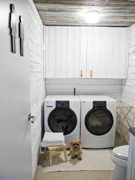 Laundry Room Storage Between Washer And Dryer by Beautiful And Efficient Laundry Room Designs Hgtv