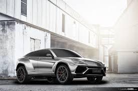 Lamborghini Urus Suv Production Ready Lamborghini Urus Suv Renders Show Off Multiple