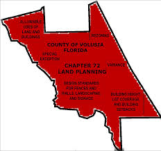 Map Of Volusia County Planning And Development Services