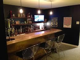 chic design simple basement bar ideas basement diy bars cabinets