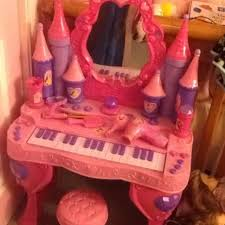 Disney Princess Keyboard Vanity Best Disney Princess Enchanted Musical Vanity Exc Cond For Sale