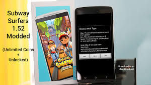 subway surfers hack apk free subway surfers 1 52 0 apk modded unlocked coins