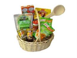 mexican gift basket gift basket mexican food and salsa