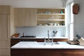 open kitchen cabinets open shelving in the kitchen pros and cons realtor