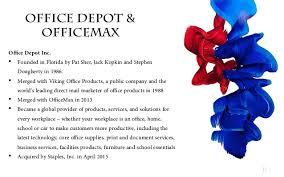 Does Office Depot Make Business Cards Office Depot U0026 Offcemax Pitch