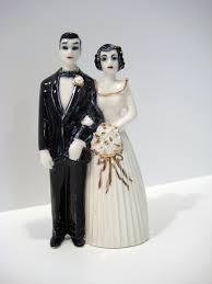 vintage cake topper vintage wedding cake topper 40s 50s vire by vintageboxfashions