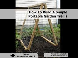 How To Build A Trellis by Portable Trellis 1200x902 Jpg