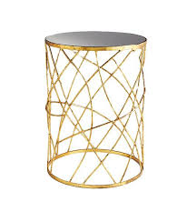 Gold Side Table Gold Side Table Design By Cyan Design