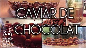 cuisine moleculaire recette caviar de chocolat cuisine moléculaire recette facile