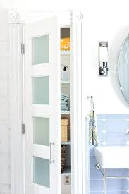 White Bathroom Cabinet With Glass Doors Bathroom Cabinet Glass Doors Gilriviere