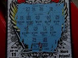 Lottery Instant Wins - scratching off a new jersey win for life instant lottery ticket