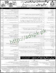 civilian jobs paf pakistan air force october jobs 2017 written