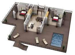 home plans with photos of interior marvellous 9 pool house plans 3d floor plan to modern hd