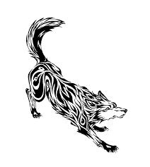 creeping wolf tribal by tofu123 on deviantart