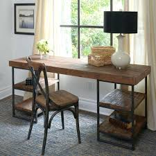 Wood Desk Ideas Rustic Wood Office Desk Best L Shaped Desk Ideas On Office Desks