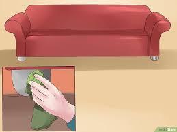 dfreiniger sofa ein sofa sauber machen wikihow