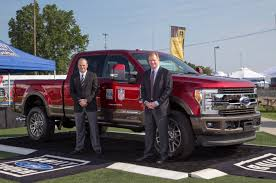 ford electric truck ford f series now official truck of the nfl celebrating toughest