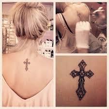 best 25 pretty cross tattoo ideas on pinterest simple cross