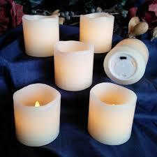 halloween led candles amazon com led lytes flameless candles battery operated votive