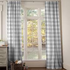 Blue Buffalo Check Curtains Cosy Buffalo Plaid Curtains Check Drapes Etsy Curtains Ideas