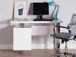 bureau design blanc laqué amovible max bureau bureau design noir laqué amovible max lovely bureau laqué
