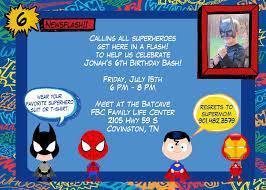 40th birthday ideas superhero birthday invitation templates free