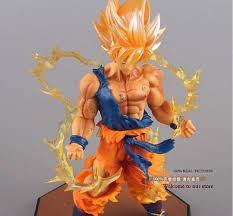 dragon ball super saiyan son goku battle version action figure