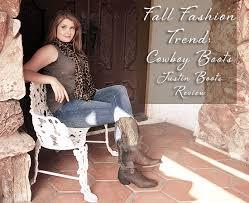 fall fashion obsession justin cowboy boots