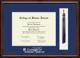 virginia tech diploma frame college of staten island tassel edition diploma frame in southport