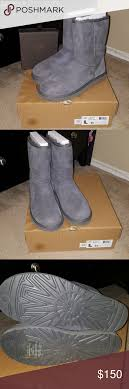 ugg s boots size 11 authentic grey ugg boots size 11 100 authentic uggs