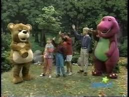 The Backyard Show Book Barney by Barney U0026 Friends 2x06 Hoo U0027s In The Forest Youtube