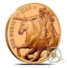 4 horsemen of the apocalypse silver bullion free shipping