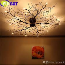 branch chandelier online cheap fumat modern branch chandelier globe creative black