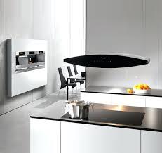 hotte ilot cuisine hotte ilot hotte cuisine elica suspendue noir mat shining a 50