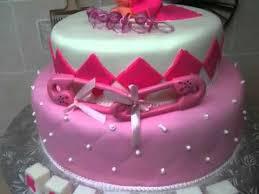 pink baby shower cake youtube
