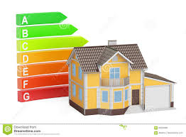energy efficiency classes diagram and scale stock photo image