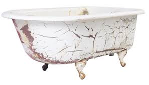 Refinishing Old Bathtubs by How To Refinish Old Cast Iron Bathub