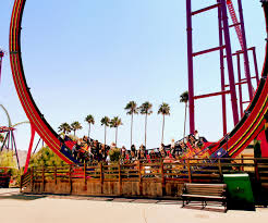 Vallejo Ca Six Flags Six Flags Discovery Kingdom 2015 Dare Devil Chaos Coaster