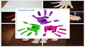 easy handprint craft for kids android apps on google play