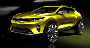 2018 kia stonic previewed in new sketches update photos 1 of 3