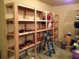Garage Ceiling Storage Systems by Diy Shelves For Garagehomemade Garage Shelving Systems U2013 Venidami Us