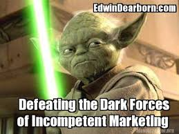 Yoda Meme Creator - meme creator of incompetent marketing edwindearborn com