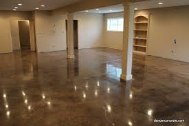 cozy with concrete how to properly stain a concrete floor