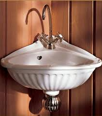 Small Corner Sinks Corner Sinks Are Small Bath Space Savers