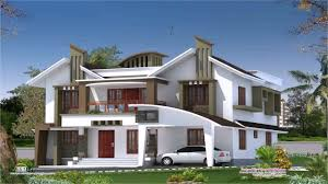 modern home design examples kerala style modern house plans youtube