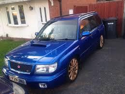 blue subaru forester subaru forester stb 2 0 turbo in subaru blue import in