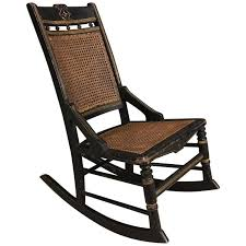 Rocking Chairs On Sale Antique French Napoleon Iii Rocking Chair Circa 1850s For Sale At