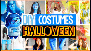 diy easy last minute halloween costumes for teenagers cute